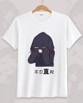 Anime menhera chan Cosplay T-shirt Summer Unisex O Neck Short Sleeve COS Short-sleeve Men women Tees tops v17