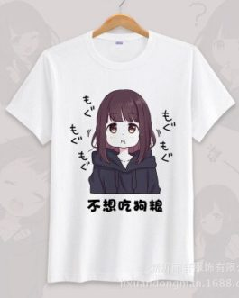 Anime menhera chan Cosplay T-shirt Summer Unisex O Neck Short Sleeve COS Short-sleeve Men women Tees tops v18