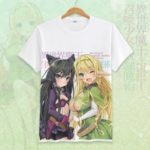 How Not to Summon a Demon Lord Cosplay Tshirt Tees Top Short Sleeve T Shirt For Men Women v18