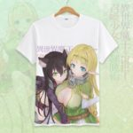 How Not to Summon a Demon Lord Cosplay Tshirt Tees Top Short Sleeve T Shirt For Men Women v19