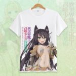 How Not to Summon a Demon Lord Cosplay Tshirt Tees Top Short Sleeve T Shirt For Men Women v2