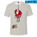 3D Christmas Blue T-shirt Men/Women 2019 Trends Harajuku Cute Prints Christmas 3D T shirt Boys/Girls Hip Hop Tees v27
