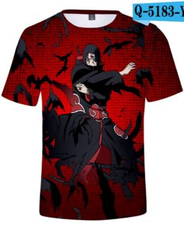 3D Classic Naruto T shirt Men/Women Cartoon T shirt Summer Short Sleeve Hip Hop 3D Anime Cool Naruto T-Shirt Casual Tees v28