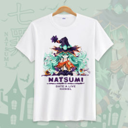 Date A Live Novelty Men T Shirts Tees Funny Camisetas Unisex Summer O Neck Top Tshirt Casual leisure Students Clothing S-3XL v3