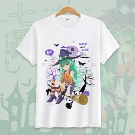 Date A Live Novelty Men T Shirts Tees Funny Camisetas Unisex Summer O Neck Top Tshirt Casual leisure Students Clothing S-3XL v4