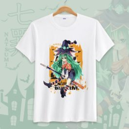Date A Live Novelty Men T Shirts Tees Funny Camisetas Unisex Summer O Neck Top Tshirt Casual leisure Students Clothing S-3XL v5