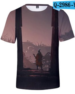 Hot Game 3D Troye Sekiro Shadow Die Twice T-shirts Men/Women 2019 Summer T-shirts men/women leisure Short Sleeves 3D T shirt v7
