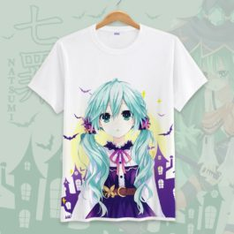 Date A Live Novelty Men T Shirts Tees Funny Camisetas Unisex Summer O Neck Top Tshirt Casual leisure Students Clothing S-3XL v7