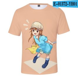 2019 latest Cells at Work 3D T-Shirt Women/Men Japanese Manga Style Summer Young Kawaii Girl Cells at Work Sweatshirt 3D T Shirt v9
