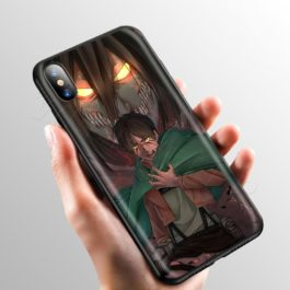 Anime Attack on Titan Case for Apple iPhone 11 Pro XS Max XR X 8 7 6 6S Plus 5 5S SE v1