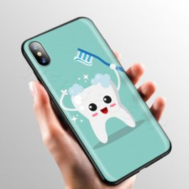 Doctor Dentist Tooth Case for Apple iPhone 11 Pro XS Max XR X 8 7 6 6S Plus 5 5S SE v10