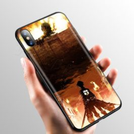 Anime Attack on Titan Case for Apple iPhone 11 Pro XS Max XR X 8 7 6 6S Plus 5 5S SE v3