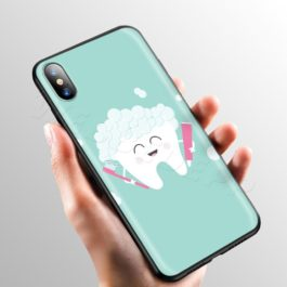 Doctor Dentist Tooth Case for Apple iPhone 11 Pro XS Max XR X 8 7 6 6S Plus 5 5S SE v4