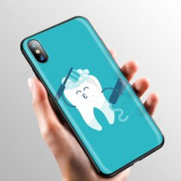 Doctor Dentist Tooth Case for Apple iPhone 11 Pro XS Max XR X 8 7 6 6S Plus 5 5S SE v5