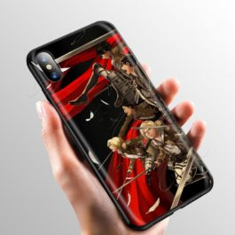 Anime Attack on Titan Case for Apple iPhone 11 Pro XS Max XR X 8 7 6 6S Plus 5 5S SE v6