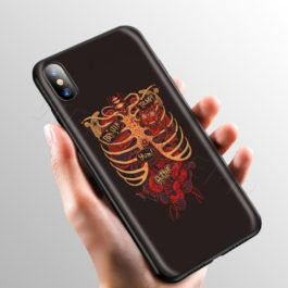 Medical Human Art Case for Apple iPhone 11 Pro XS Max XR X 8 7 6 6S Plus 5 5S SE v7