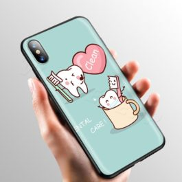 Doctor Dentist Tooth Case for Apple iPhone 11 Pro XS Max XR X 8 7 6 6S Plus 5 5S SE v7