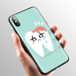 Doctor Dentist Tooth Case for Apple iPhone 11 Pro XS Max XR X 8 7 6 6S Plus 5 5S SE v9